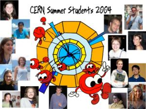 CERN summer students 2004