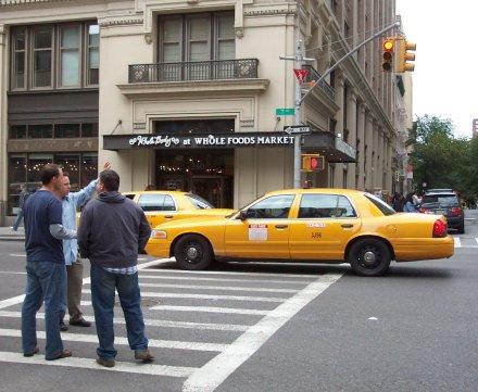 Fermare un taxi