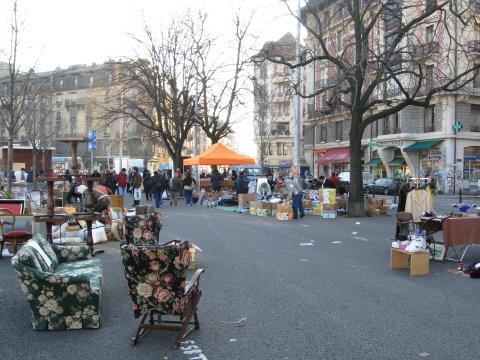 mercato di Plainpalais