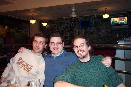 Giacomo, Fran, Maso