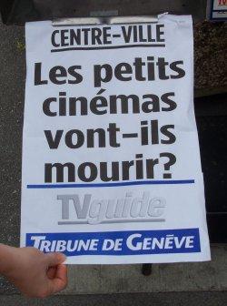 I piccoli cinema moriranno?